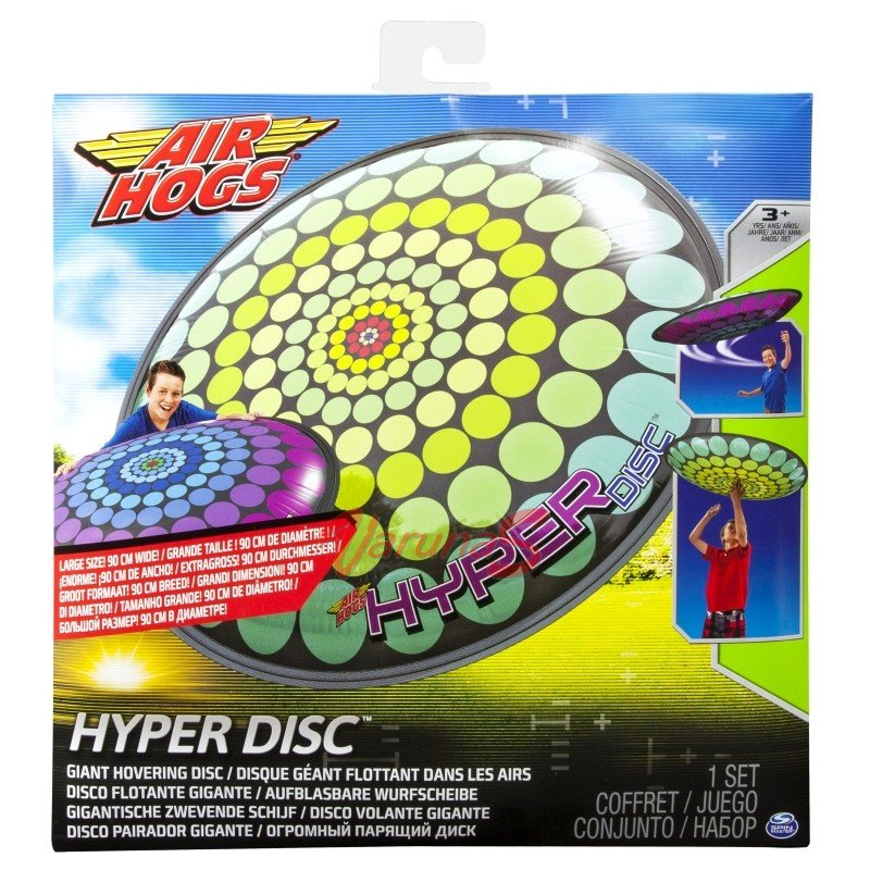 air hogs hyper disc instructions