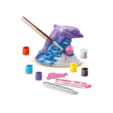 SES Creative Creaza si picteaza - Delfin + sclipici