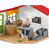 SCHLEICH Cabinet veterinar cu animale de casa