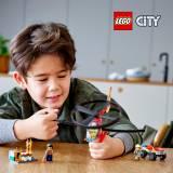 LEGO® City Interventie cu elicopterul de pompieri