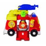 Set de joaca Vtech Tit Tit, Masinute Masina de Pompieri