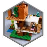 LEGO Minecraft Casuta din copac