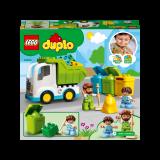 LEGO DUPLO Town Autogunoiera si reciclare