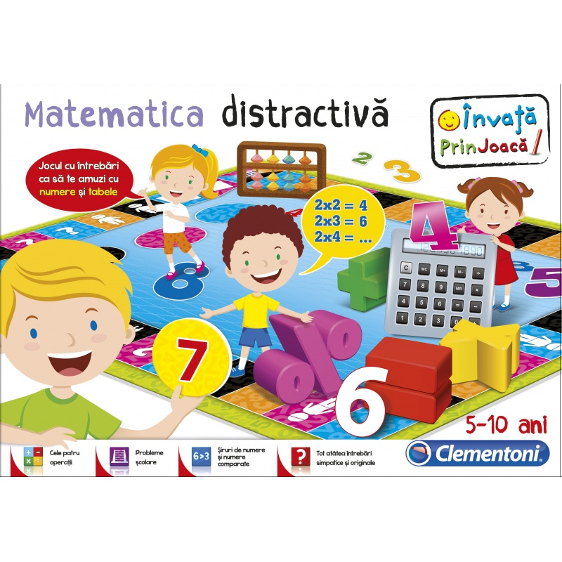 Joc educativ - Matematica distractiva - 60440