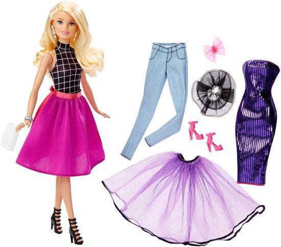 Papusa Barbie Mattel BRB Fashion Mix'n Match Doll Blonda DJW57-DJW58