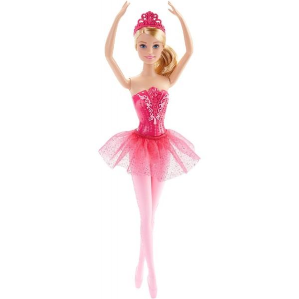 Papusa Barbie Balerina Mattel BRB Balerina Pink DHM41-DHM42