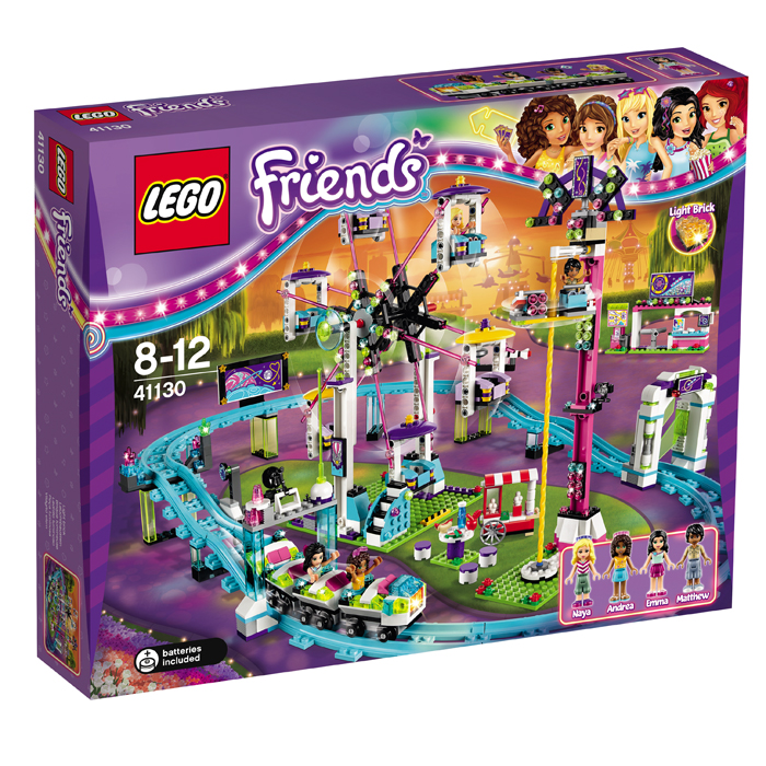 LEGO  Friends Montagne Russe In Parcul De Distracii L41130