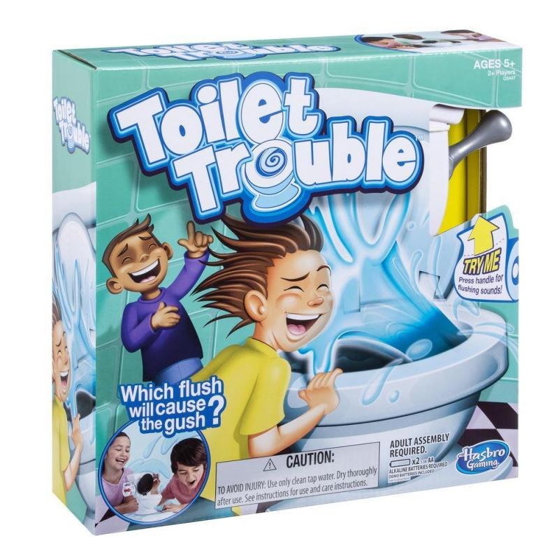 Joc Hasbro - Toilet Trouble - HBC0447