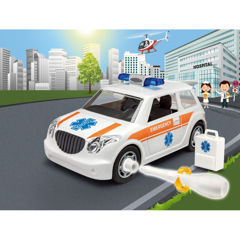 Masinuta Junior Kit Revell - Masina de Salvare - RV0805