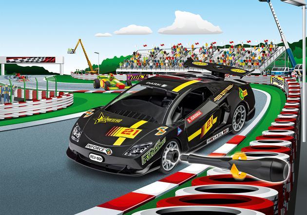 REVELL JUNIOR KIT Racing Car, black