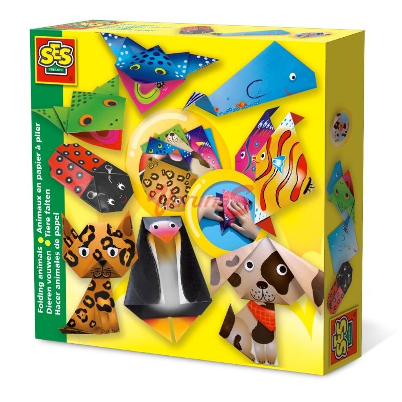 SES Creaza animale din hartie (gen origami)