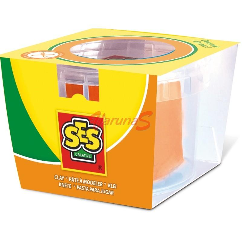 Conserva pasta de modelat 90 gr. ( Portocaliu ) - SES (S00407)