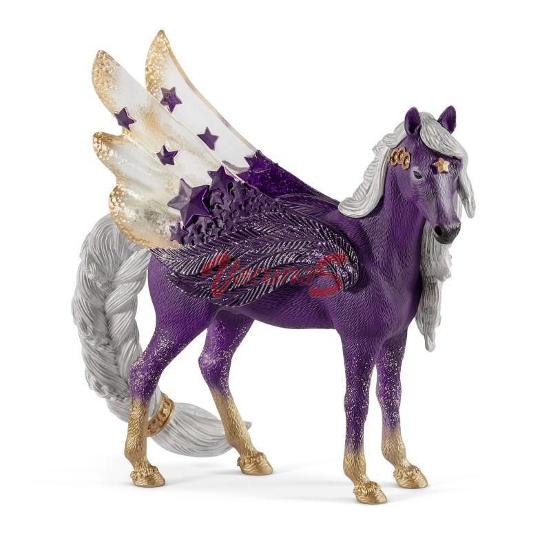 SCHLEICH Pegasus cu stea in frunte, Iapa