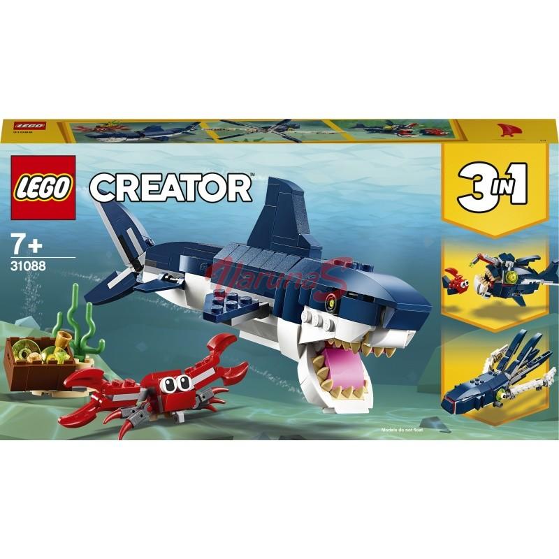 LEGO® Creator Creaturi marine din adancuri