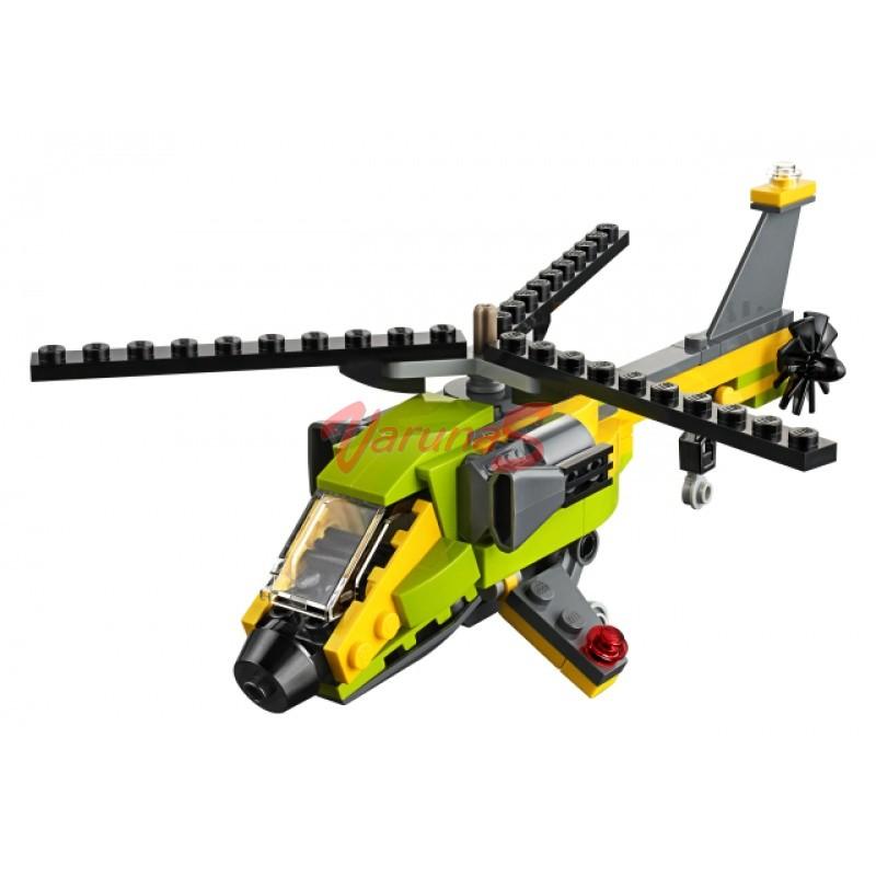 LEGO® Creator Aventura cu elicopterul