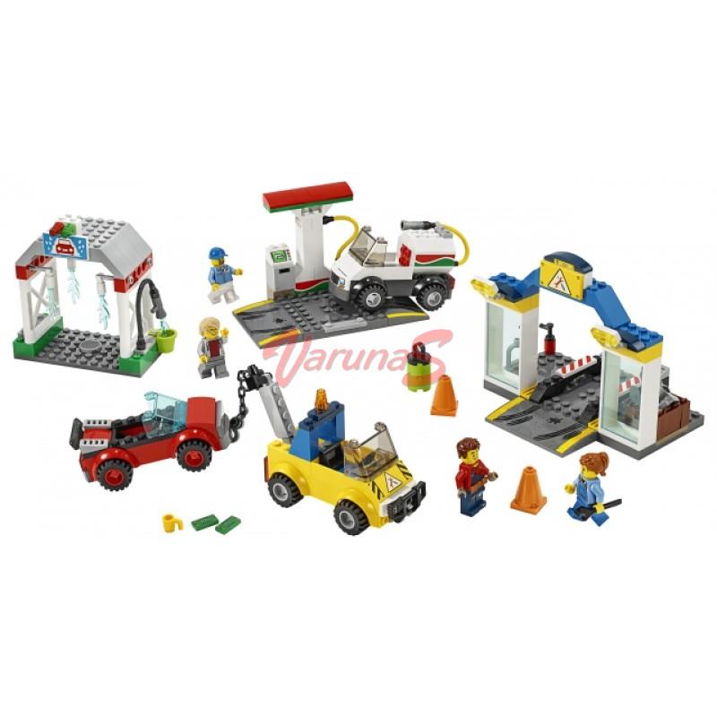 LEGO® City Town Centrul de garaje
