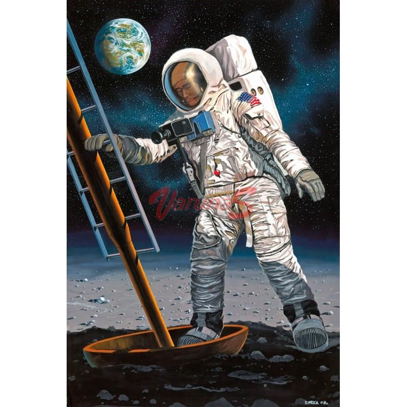 REVELL Apollo 11 Astronaut on the Moon