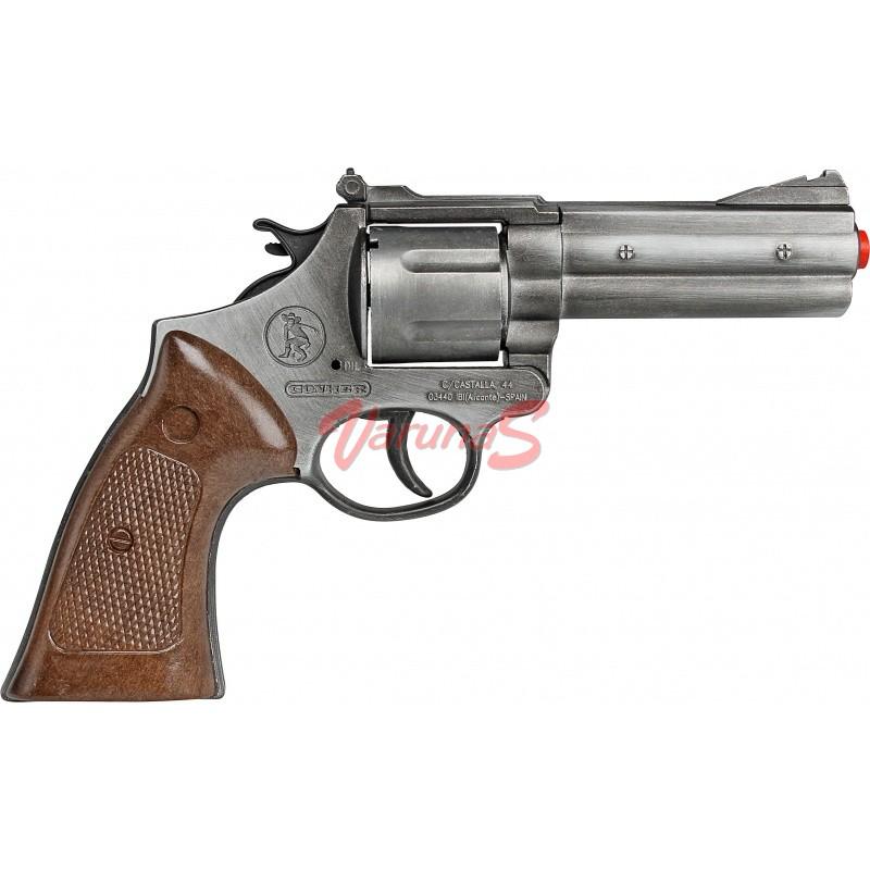 GONHER Revolver politie culoare argint antichizat 12 capse