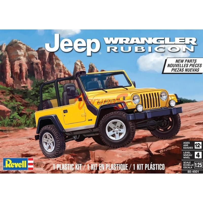 REVELL Jeep Wrangler Rubicon
