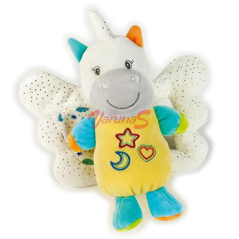 VENTURELLI Plus Bebe zornaitoare unicorn cu aripi
