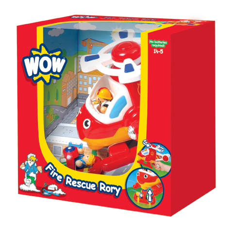 FIRE RESCUE RORY WOW W10314