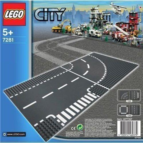 LEGO CITY SINE CURBE - 7281
