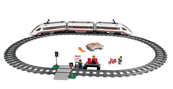 LEGO City Trains -Tren de pasageri de mare viteza - 60051