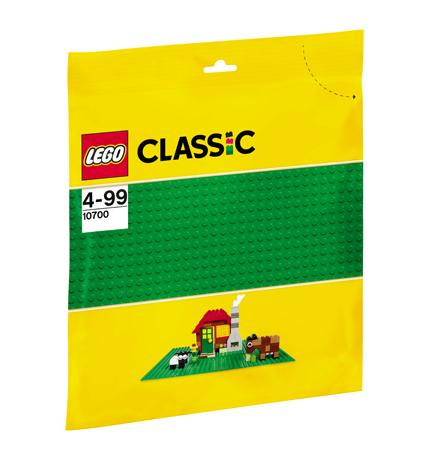 LEGO Classic Placa de baza verde - 10700