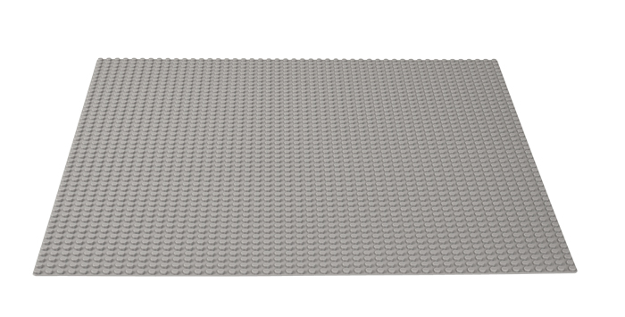 LEGO Classic Placa de baza gri - 10701