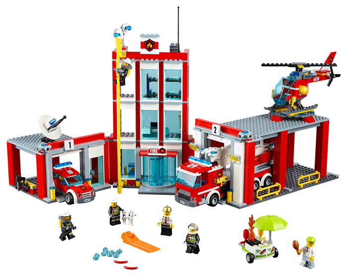 LEGO City Remiza de pompieri - 60110