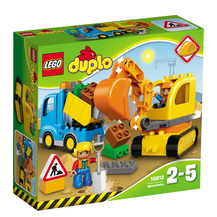 LEGO DUPLO Camion  excavator pe senile L10812