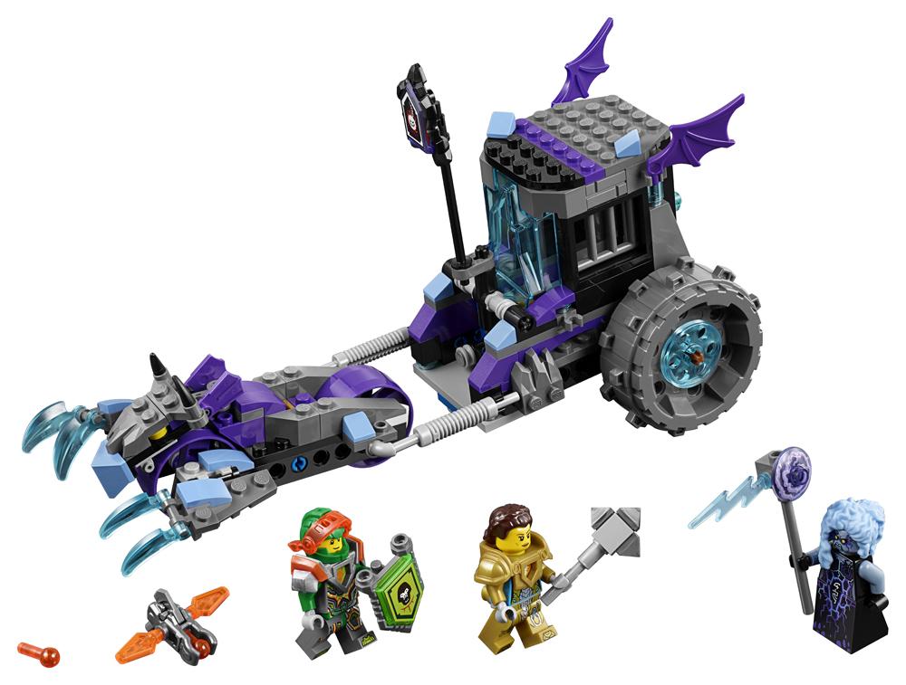 LEGO NEXO KNIGHTS Masina Lock  Roller a Ruinei - 70349