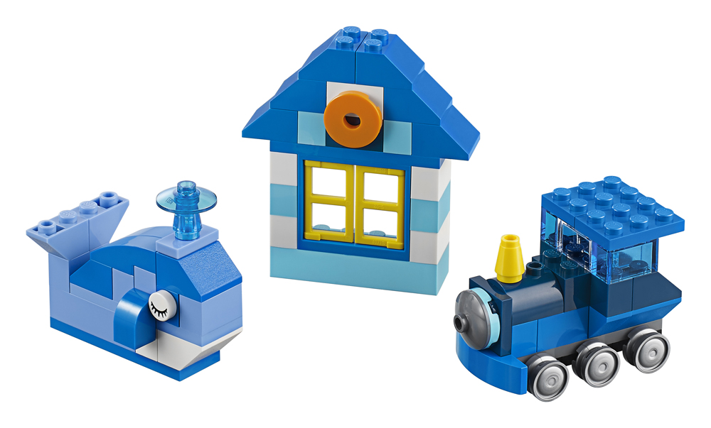 LEGO Classic Cutie albastra de creativitate - L10706