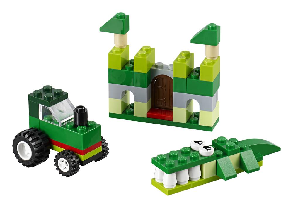 LEGO Classic Cutie verde de creativitate - L10708