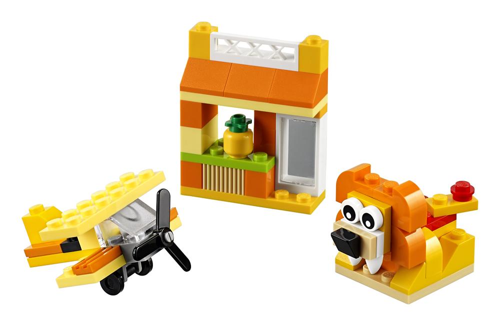 LEGO Classic Cutie portocalie de creativitate - L10709