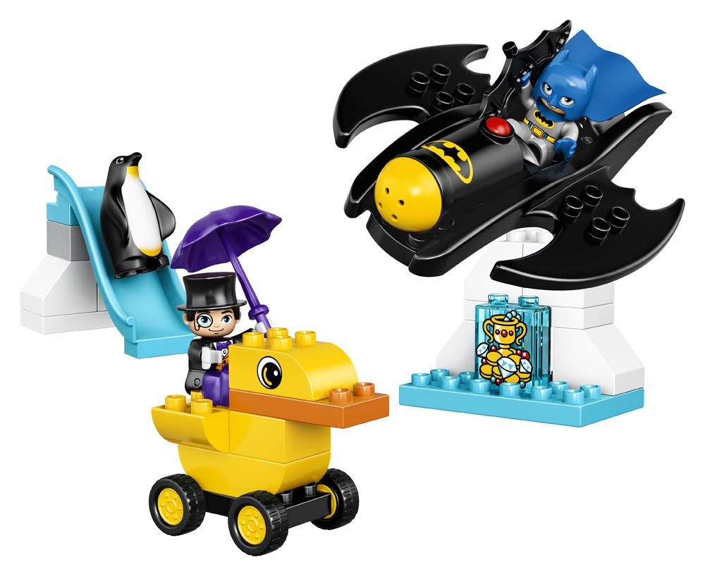 LEGO DUPLO  Aventura cu Batwing-ul - L10823