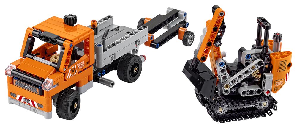 LEGO Technic Echipaj pentru repararea drumurilor - L42060