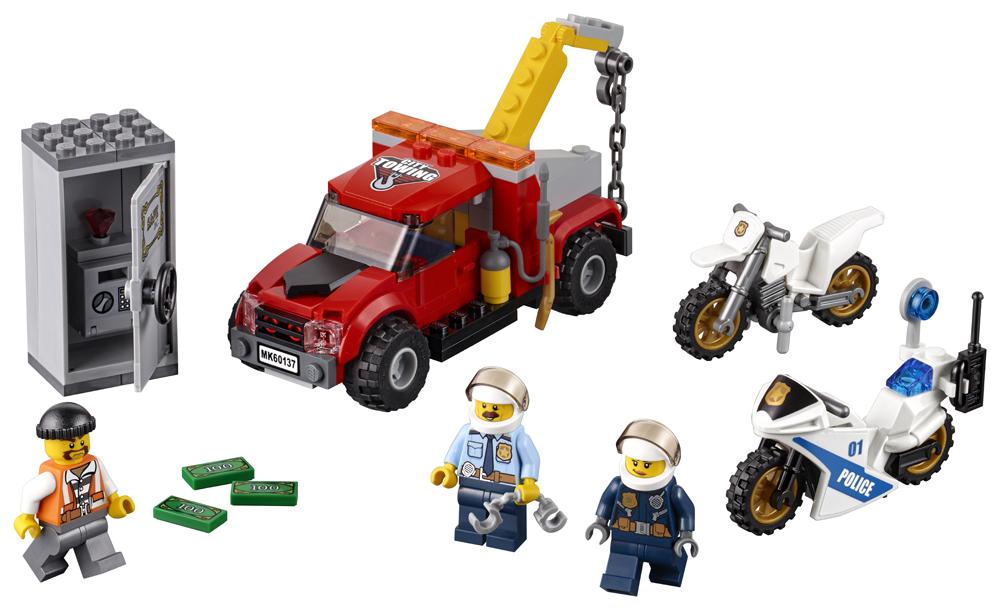 LEGO City Police Cazul camionul de remorcare - L60137