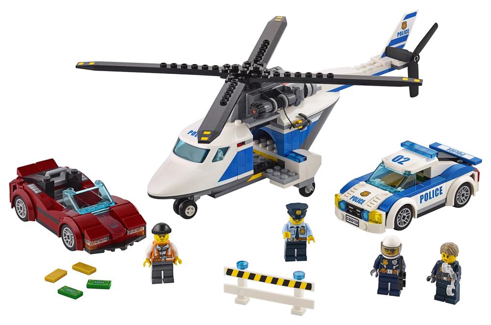 LEGO City Police Urmarire de mare viteza - L60138