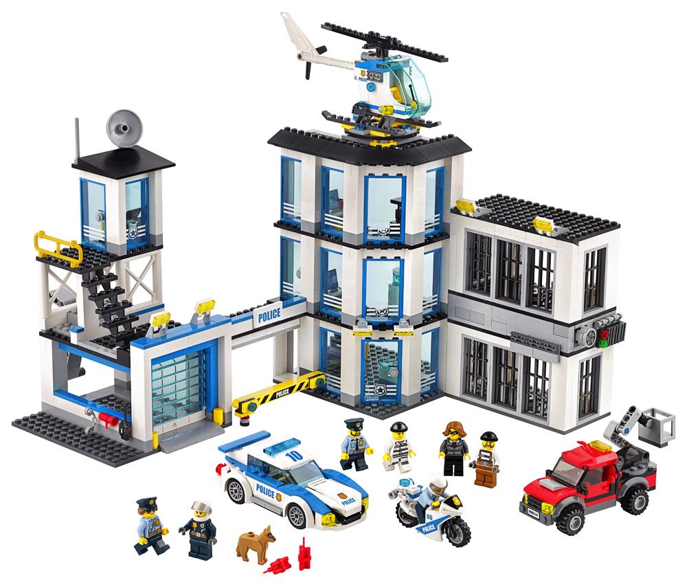 LEGO City Police Sectie de politie - L60141