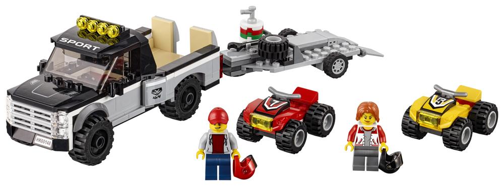 LEGO City Great Vehicles Echipa de curse pe ATV - L60148