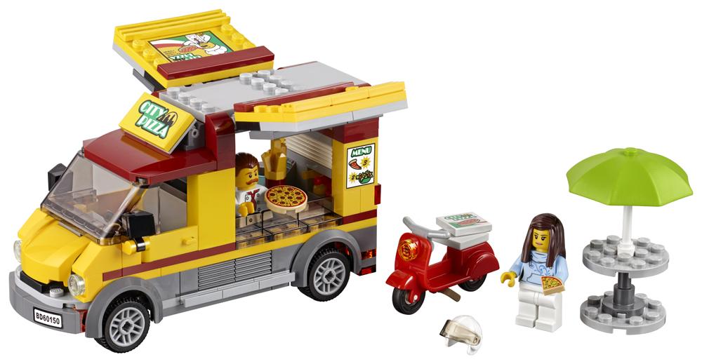 LEGO City Great Vehicles Furgoneta de pizza - L60150