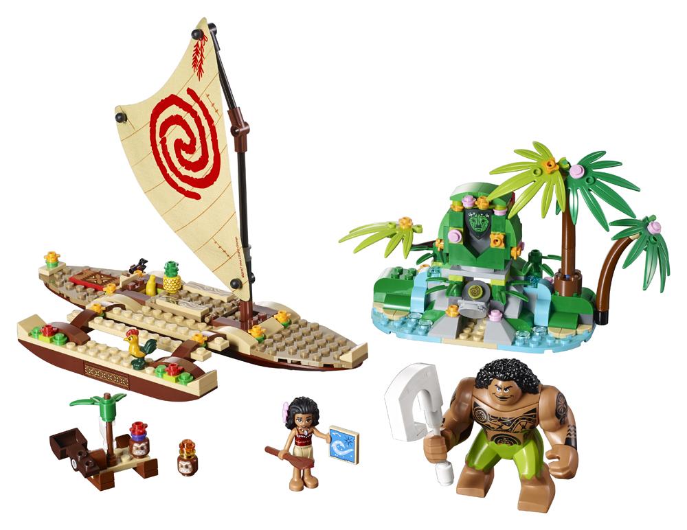 LEGO Disney Princess Vaiana si calatoria ei pe ocean - L41150