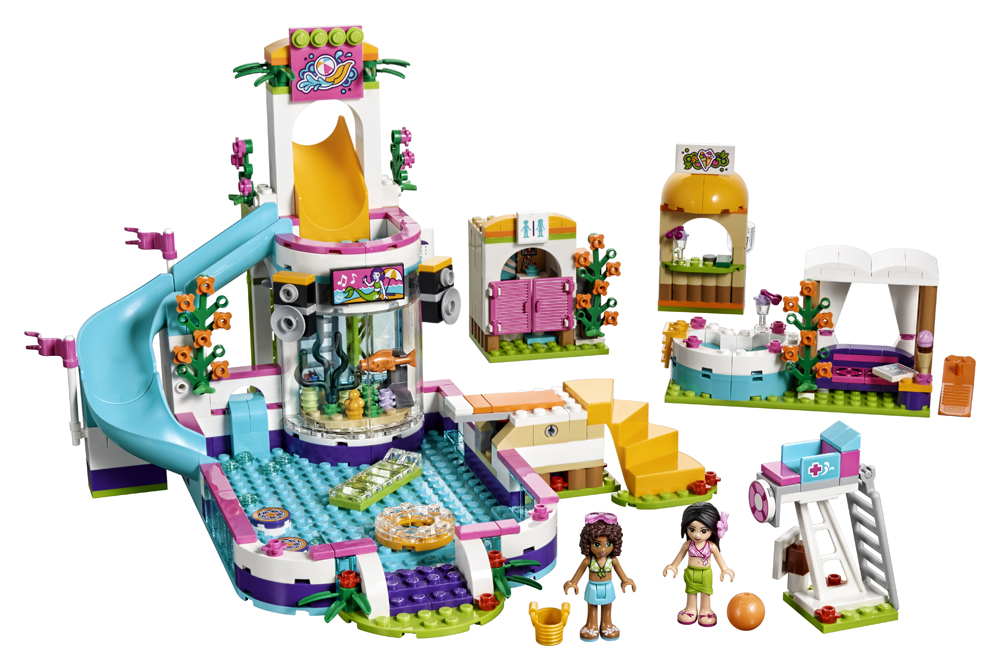 LEGO Friends Piscina de vara din Heartlake - L41313