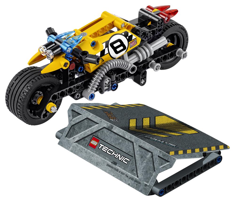 LEGO Technic Motocicleta de cascadorie - L42058