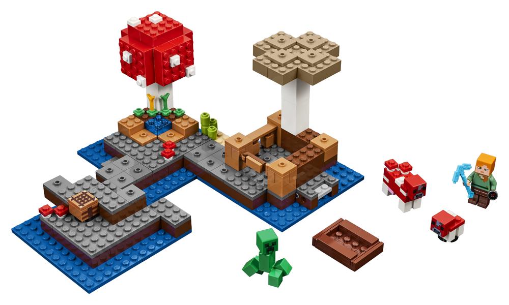 LEGO Minecraft Insula Ciupercilor - 21129