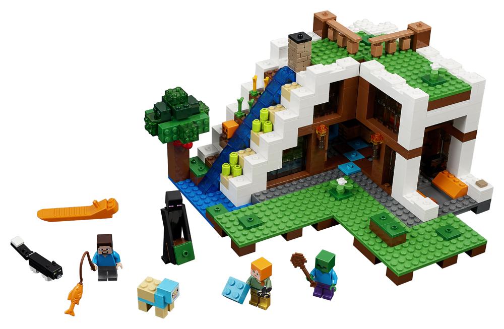 LEGO Minecraft Baza de la Cascada - 21134