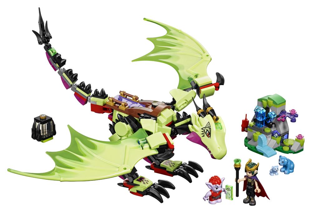 LEGO Elves Dragonul malefic al regelui Goblin - 41183
