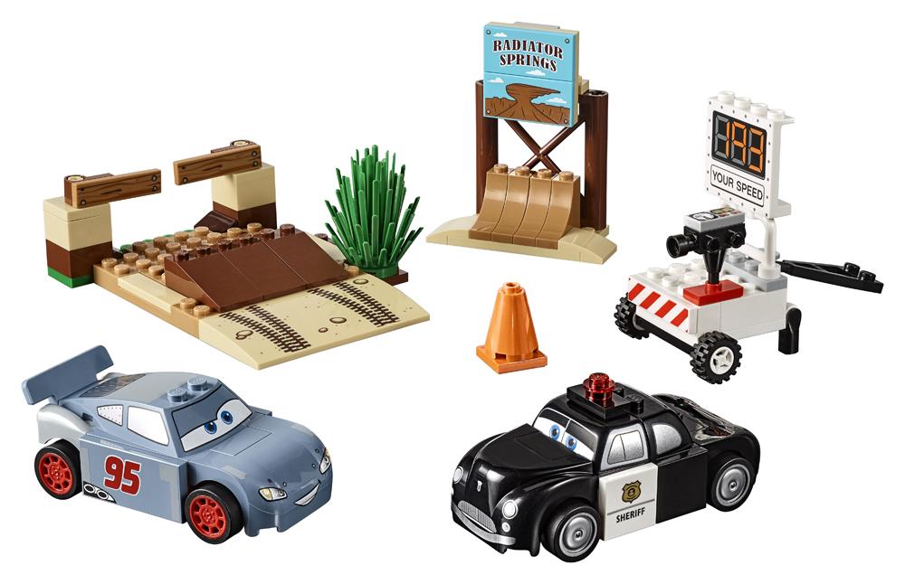 10742 LEGO Juniors Antrenamentul de vitez al lui Willy