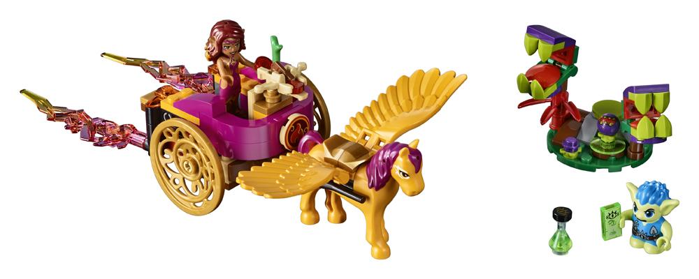 41186 LEGO Elves Azari i evadarea din padurea spiriduilor